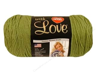 Everything You Love Sale: Red Heart With Love Yarn #1601 Lettuce 370 yd.