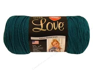 Crochet Hooks Best of 2012: Red Heart With Love Yarn #1623 Mallard 7oz.