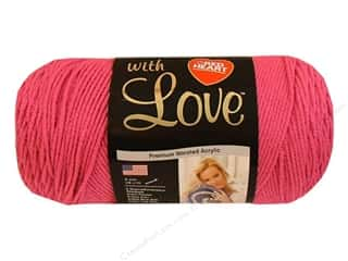 Red Heart With Love Yarn Candy Pink 7oz.