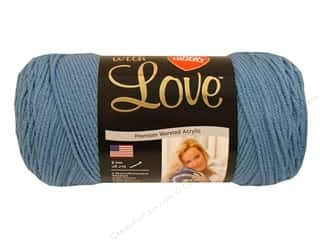 Everything You Love Sale American Crafts Ribbon: Red Heart With Love Yarn #1805 Bluebell 370 yd.