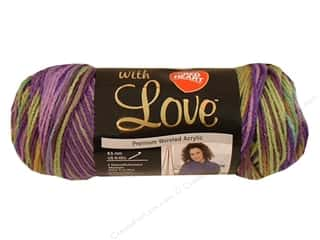 Red Heart With Love Yarn Waterlily 5oz.