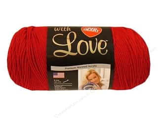Red Heart With Love Yarn Holly Berry 7oz.