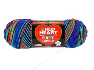 Multi Colored Yarn: Red Heart Super Saver Yarn Heartfelt 5 oz.