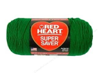Red Heart Super Saver Jumbo Yarn #368 Paddy Green 14 oz.