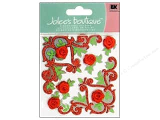 Photo Corners Dimensional Stickers: Jolee's Boutique Stickers Rose Corner Flourishes