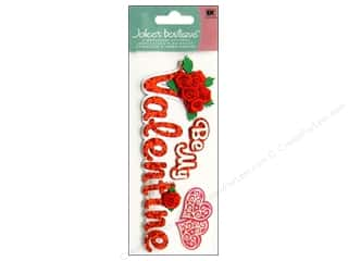 Valentine's Day Gifts Candlemaking: Jolee's Boutique Title Stickers Be My Valentine