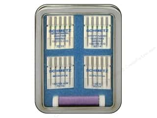 sewing machine needle threader: Schmetz The Gift Box Tin Quilting