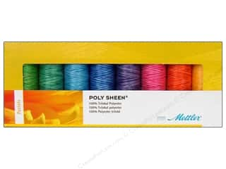 Holiday Gift Ideas Sale Mettler Thread: Mettler Thread Gift Set Poly Sheen Pastels 8pc