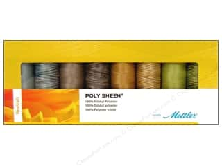 Mettler Thrd Gift Set Poly Sheen Neutrals 8pc