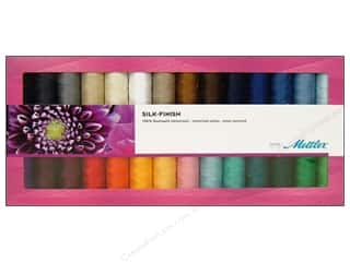 mettler mercerized cotton thread: Mettler Thread Gift Set Silk Finish Cotton 28pc