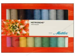 Sewing & Quilting: Mettler Thrd Gift Set Metrosene Plus AllPurp 18pc