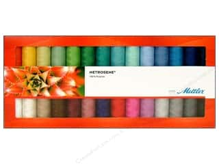 Metrosene Plus Polyester thread: Mettler Thrd Gift Set Metrosene Plus AllPurp 28pc