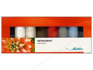 Sewing & Quilting: Mettler Thrd Gift Set Metrosene Plus All Purp 8pc