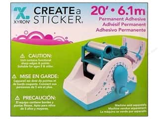 Xyron 250 2.5&quot; Create A Sticker Refill Perm 20&#39;