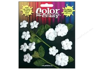 Petaloo Color Me Crazy Assorted Mini Blossoms Velvet