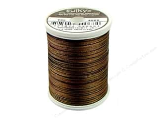 Sulky Black: Sulky Blendables Cotton Thread 30 wt. 500 yd. #4068 Dark Chocolate