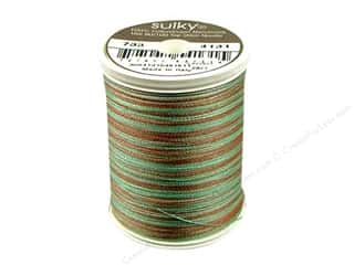 Sulky Black: Sulky Blendables Cotton Thread 30 wt. 500 yd. #4131 Chocolate Mint