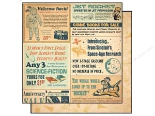 Best Creation inches: Best Creation 12 x 12 in. Paper Space Age Collection Space Age (25 sheets)