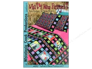 Whistlepig Quilt Patterns: Whistlepig Creek What's New Pussycat Pattern
