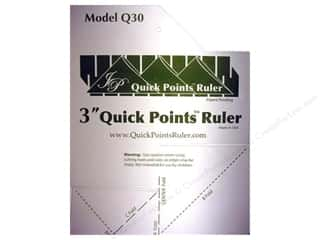 Rulers Plastic Rulers: Quick Points Ruler Prairie Point 3""