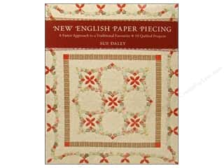 Appliques $3 - $13: C&T Publishing New English Paper Piecing Book by Sue Daley