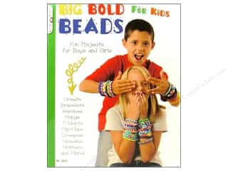 Kid Crafts Clearance: Design Originals Big Bold Beads For Kids Book