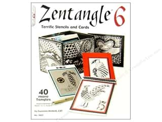 paper craft books: Zentangle 6 Book