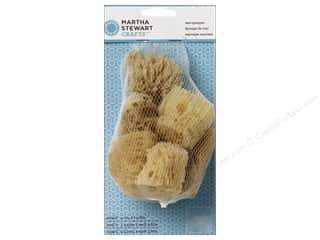 Martha Stewart Effect by Plaid: Martha Stewart Tools Sea Sponge Set 6pc