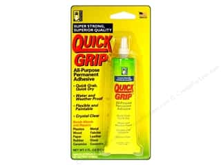 Beacon Clear: Beacon Quick Grip Permanent Adhesive 2 oz.