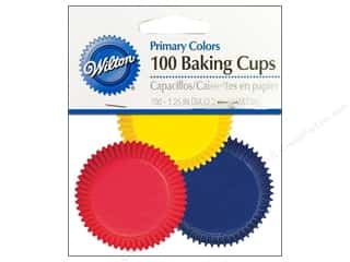 Cups & Mugs $7 - $8: Wilton Mini Baking Cups Assorted Primary 100 pc.