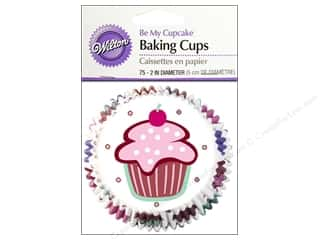 Food $2 - $4: Wilton Standard Baking Cups  Be My Cupcake 75 pc.