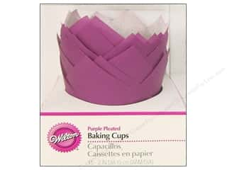 Wilton Baking Cup Standard Pleated Purple 15pc