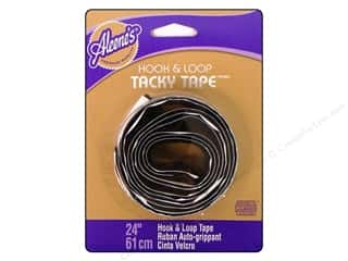 Aleene&#39;s Hook &amp; Loop Dry Adh Tacky Tape Blk 24&quot;