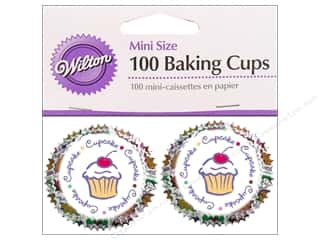 Baking Supplies Black: Wilton Mini Baking Cups Cupcake Heaven 100 pc.