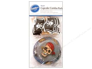 Baking Supplies Brown: Wilton Cupcake Combo Pack Pirate 24 pc.
