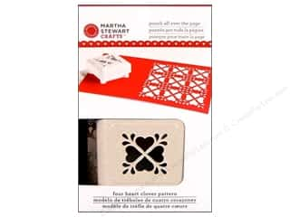 Weekly Specials Clover Bias Tape Maker: Martha Stewart Punch All Over/Page Heart Clover