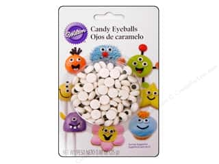 Edibles / Foods inches: Wilton Candy Eyeballs .88 oz.