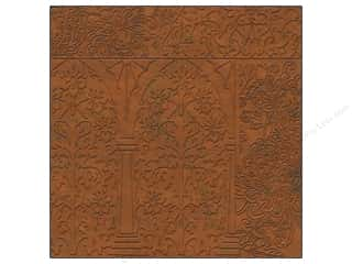 K&Co Paper 12x12 Engraved Garden Foil Copper (12 sheets)