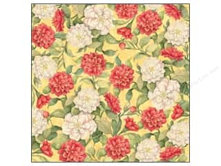 K & Company K&Company 12 x 12 in. Paper: K&Company Paper 12x12 Susan Winget Meadow Glitter Camillia (12 sheets)