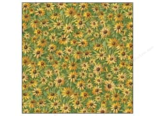 Flowers K&Company 12 x 12 in. Paper: K&Company 12 x 12 in. Paper Meadow Collection Daisy by Susan Winget (25 sheets)