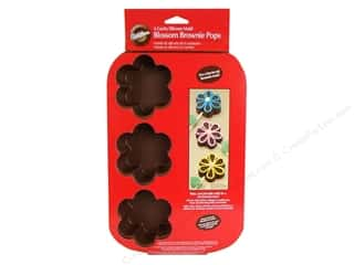 Wilton Molds Brownie Pops Blossom 6 Cavity