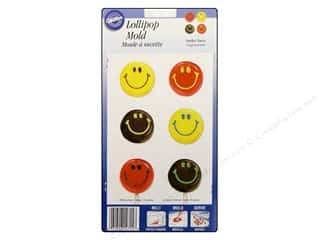 Wilton Molds Lollipop Smiley Face