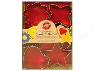 Wilton Cookie Cutter Set Metal Classic 6pc