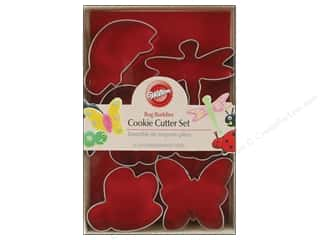 Wilton Cookie Cutter Set Metal Bug Buddies 6pc
