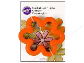 Cutters: Wilton Cookie Cutter Comfort Grip Flower