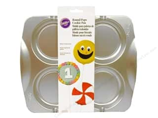 Wilton Cookie Pops Pan Round Aluminum