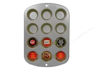 Baking SheetS / Baking Pans: Wilton Muffin Pan Mini 12 Cup Non Stick