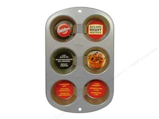 Wilton Cooking / Baking / Food: Wilton Recipe Right Muffin Pan 6 Cup