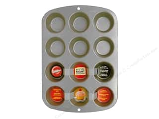 Baking SheetS / Baking Pans: Wilton Recipe Right Muffin Pan 12 Cup