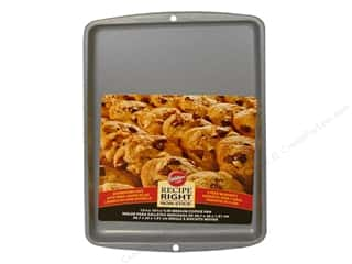 Baking SheetS / Baking Pans: Wilton Recipe Right Cookie Sheet 15 1/4 x 10 1/4 in.